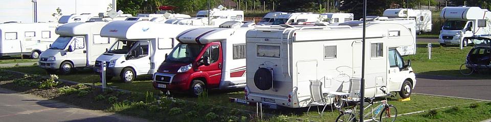 Wohnmobilstellplätze Mecklenburg Marina Wesenberg